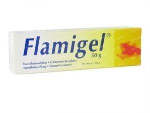 Flamigel 50g.Επουλώνει γρηγορότερα τραύματα και εγκαύματα