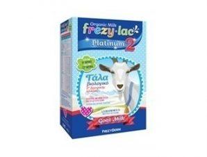 Frezyderm – Frezylac Platinum 2 Βιολογικό Κατσικίσιο Γάλα – 400gr – Από τον 6° μήνα έως τον 12° μήνα.