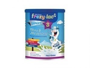 Frezyderm – Frezylac Silver 3 Αγελαδινό Γάλα – 400gr -Από τον 12° μήνα.
