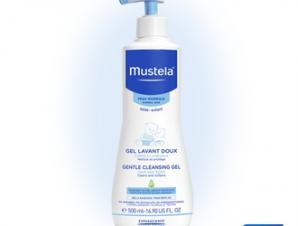 Mustela Gentle Cleansing Gel 500ml – Τζελ Καθαρισμού με Ήπιο Αφρισμό, για Σώμα και Μαλλιά, Ιδανικό για Καθημερινή Χρήση από τη Στιγμή της Γέννησης