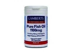 Lamberts Pure Fish Oil 1100mg ,60 caps