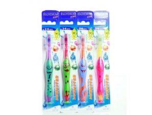 Elgydium Kids Monster Οδοντόβουρτσα για παιδιά 2-6 ετών