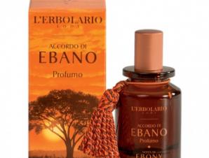 L'erbolario Accordo di Ebano / Porfumo 50ml / με Αρωματικές Νότες : Γκρέιπ φρουτ, Μανταρίνι, Έβενο, Μαύρο Πιπέρι, Έλεμι Λάβδανο.