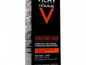 Vichy Homme Structure Force Αντιρυτιδική Κρέμα για Άντρες 50ml