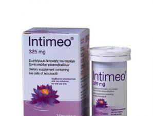 Frezyderm Intimeo – Συμπλήρωμα διατροφής που περιέχει ζώντα στελέχη γαλακτοβακίλλων – 14καψάκια