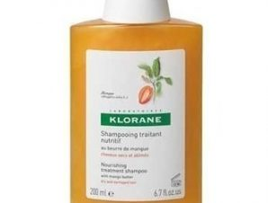 Klorane Σαμπουάν με Μάνγκο για Ξηρά Ταλαιπωρημένα Μαλλιά, 200ml.