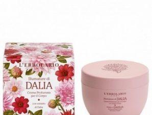 L'Erbolario Shades Of Dahlia Dalia -Αρωματική κρέμα για το σώμα με εκχύλισμα Ντάλιας / 300ml