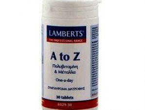Lamberts A-Z Multi Vitamins 30TABS