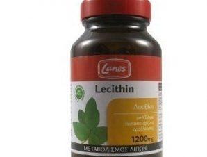 Lanes Lecithin, 1200mg. 200caps.