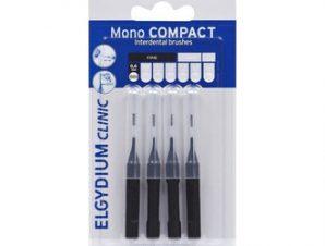 Elgydium Clinic – Mono Compact 0.35mm – 4τμχ / Μεσοδόντια Βουρτσάκια.