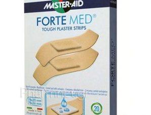 Master Aid Forte Med 2 Formati – Στενά & Φαρδιά, 20τμχ.