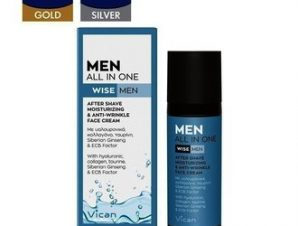 Vican Wise Men -All in One After-Shave Ενυδατική & Αντιγηραντική Κρέμα Προσώπου – 50ml