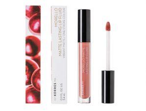 Korres – Morello Matte Lasting Lip Fluid – N: 06 (Romantic Nude ) / 3.4ml