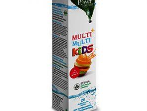 Power Health Multi + Multi Kids 20 αναβράζοντα δισκία,Πολυβιταμινούχο συμπλήρωμα διατροφής για παιδιά με φυσικό γλυκαντικό από το φυτό στέβια