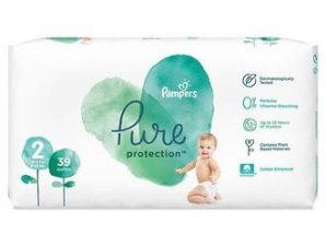Pampers Pure Care Protection / Ν:2 ( 39τμχ) / 4-8kg