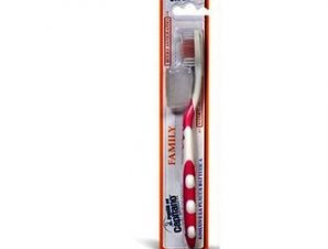 Pasta Del Capitano Family medium- Toothbrush Μαλακή Οδοντόβουρτσα ( pink)