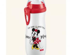 Nuk Παγουράκι Sports Cup Disney Mickey 450 ml με καπάκι push-pull(10.255.413) Άσπρο