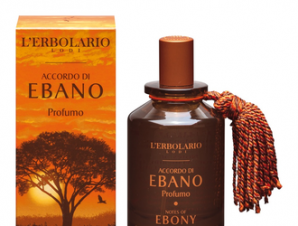 L'erbolario Accordo di Ebano / Porfumo 100ml / με Αρωματικές Νότες : Γκρέιπ φρουτ, Μανταρίνι, Έβενο, Μαύρο Πιπέρι, Έλεμι Λάβδανο.