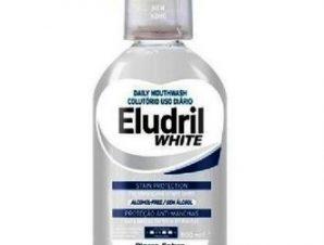 Elgydium Eludril White 500ml,Στοματικό Διάλυμα για δυνατά και λαμπερά δόντια.