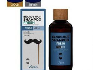 Vican Wise Men – Beard & Hair Shampoo Fresh – 200ml
