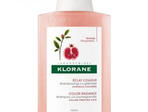Klorane Σαμπουάν με Εκχύλισμα Ροδιού για Βαμμένα Μαλλιά, 400ml.