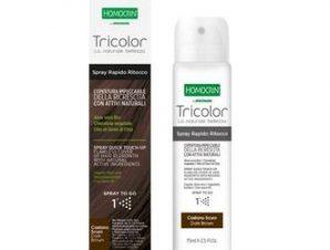 Homocrin Tricolore / Spray Βαφής Μαλλιών – Dark Brown / 75ml
