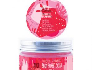 Aloe+Colors / Daiquiri Strawberry Sorbet Scrub για το σώμα / 200ml