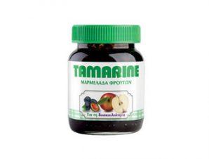 Tamarine Υπακτική Μαρμελάδα Φρούτων Μήλου & Δαμάσκηνου, 260 gr