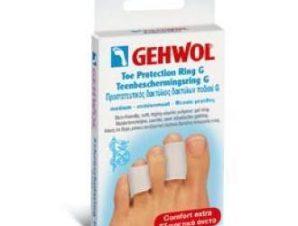 Gehwol Toe Protection Ring G-Προστατευτικός δακτύλιος δακτύλων ποδιού Μεσαίο μέγεθος 2τεμ.