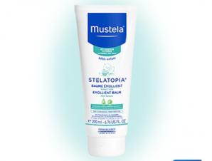 Mustela STELATOPIA® Emolient Balm 200ml – Μαλακτική περιποίηση δέρματος για πρόσωπο και σώμα, για χρήση από τη στιγμή της γέννησης