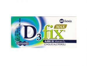 UNI-PHARMA – D3 Fix Max 4000 IU – 60tabs