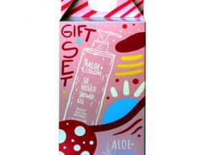 Aloe+Colors Gift Set -Shower Gel So Velvet / 250ml & Hair & Body Mist So Velvet / 100ml